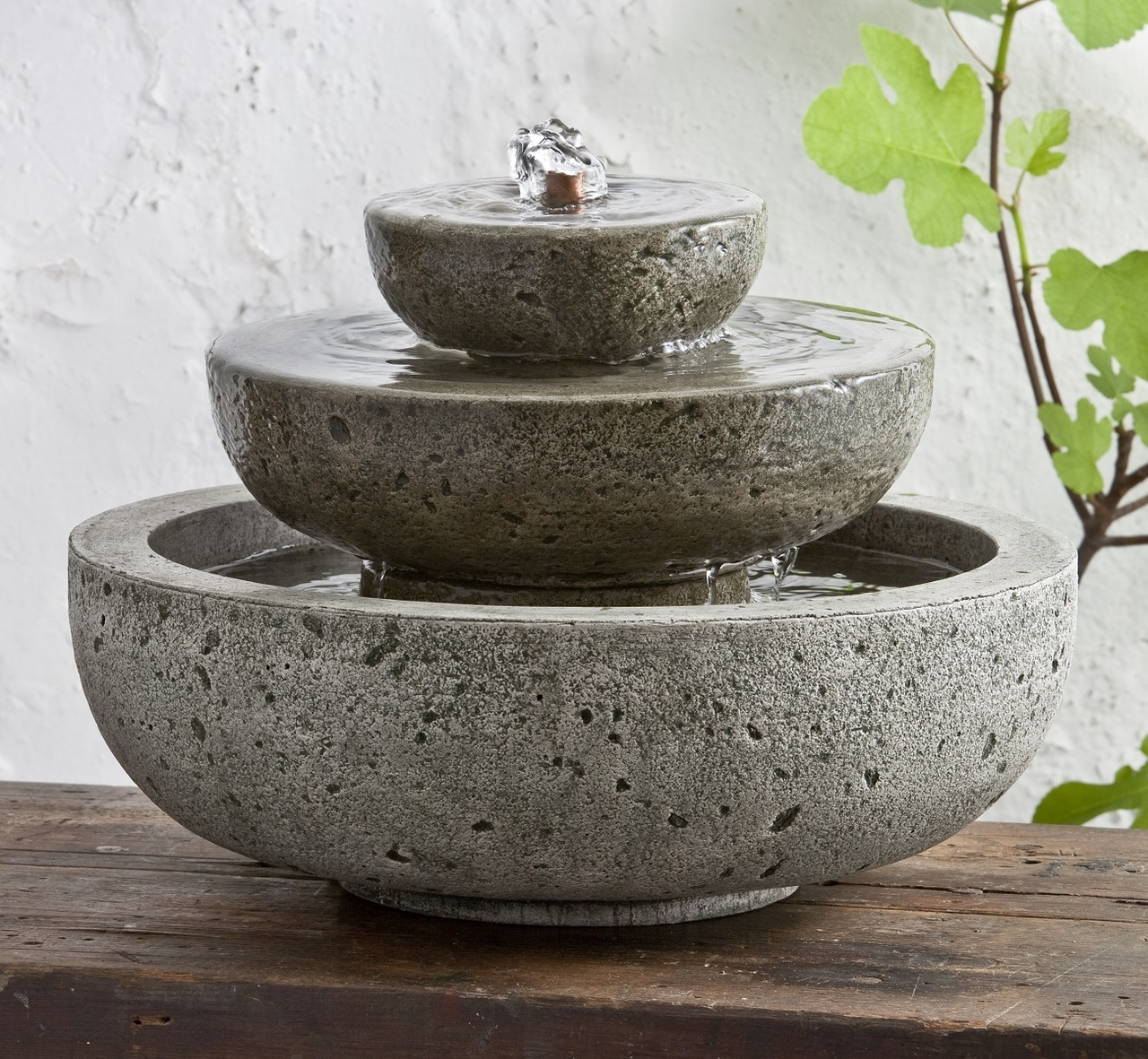 M Series Platia Fountain Tiered Table Top Fountain