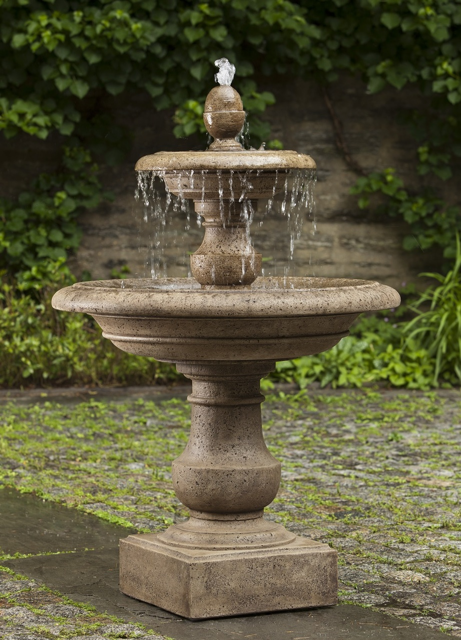 Caterina fountain tiers from heaven with a multi tiered Outdoor water fountains